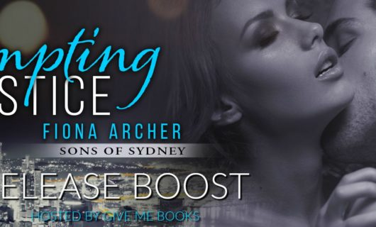 Release Boost:  Tempting Justice by Fiona Archer