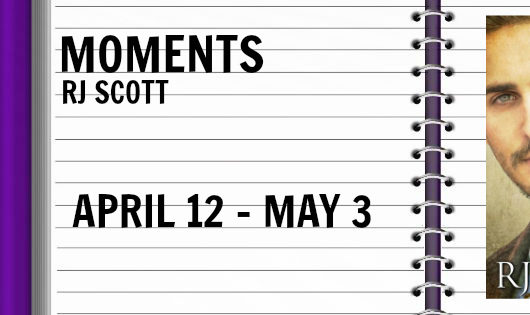 Review Tour / Giveaway: Moments by RJ Scott