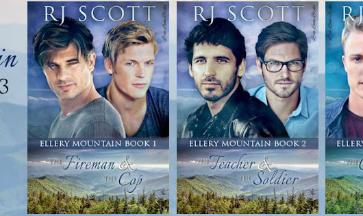 Review Tour and Giveaway: Ellery Mountain 1-2-3 by RJ Scott