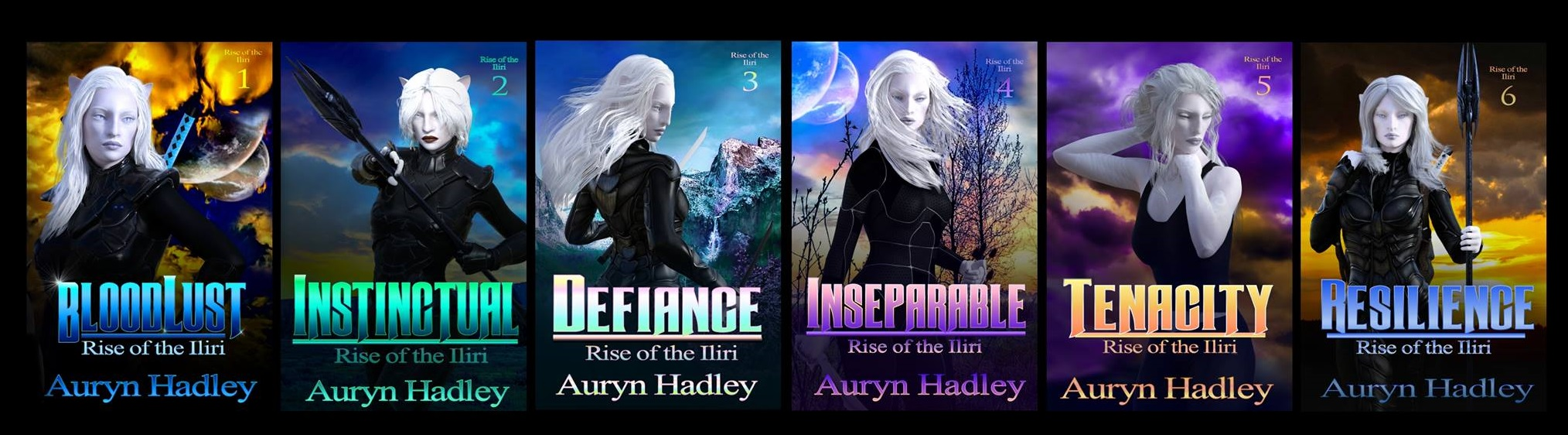 Rise of the Iliri by Auryn Hadley
