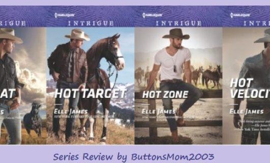 Review: Hot Velocity & Ballistic Cowboys series by Elle James