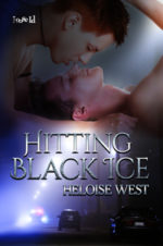 Hitting Black Ice by Heloise West width=