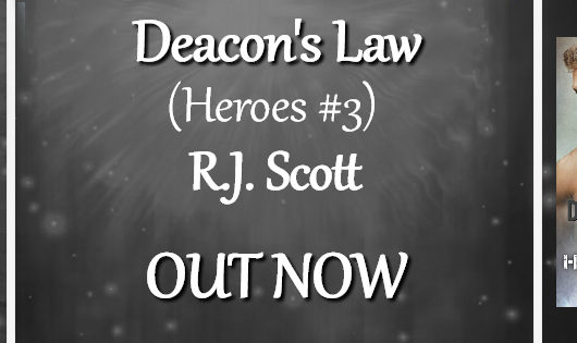 Release Blitz, Review Tour, Excerpt & Giveaway: Deacon's Law by RJ Scott